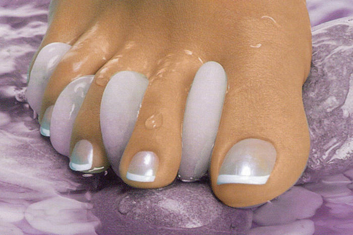 2014 french pedicure designs joy studio design gallery best design - Ongle gel pied ...